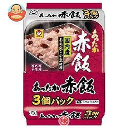 送料無料 東洋水産 あったか赤飯 3個パック (170g×3個)×8個入