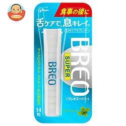 送料無料 【2ケースセット】 グリコ BREO SUPER(ブレオスーパー) クリアミント 14粒×5個入×(2ケース)