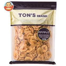 送料無料 【2ケースセット】 東洋ナッツ食品 トン バナナチップ 500g×10袋入×(2ケース)