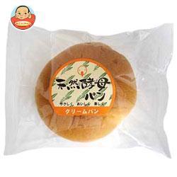 送料無料 天然酵母パン クリームパン 12個入