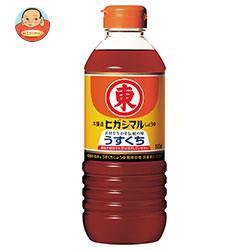 送料無料 ヒガシマル醤油 うすくちしょうゆ 500mlペットボトル×12本入