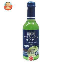 送料無料 【2ケースセット】 木村飲料 静岡マスクメロンサイダー 240ml瓶×20本入×(2ケース)