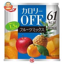 送料無料 SSK カロリ−OFF フルーツミックス 185g缶×24個入
