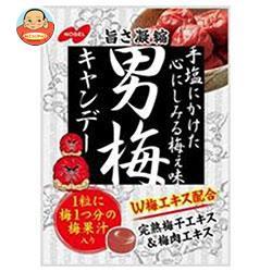 送料無料 【2ケースセット】 ノーベル製菓 男梅 80g×6袋入×(2ケース)