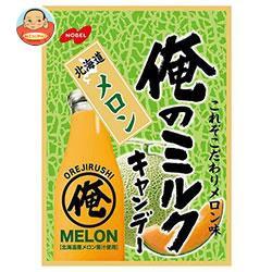 【送料無料】 ノーベル製菓 俺のミルク 北海道メロン 80g×6袋入