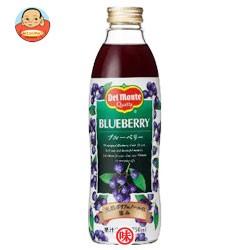 送料無料 デルモンテ ブルーベリー20% 750ml 瓶×12(6×2)本入