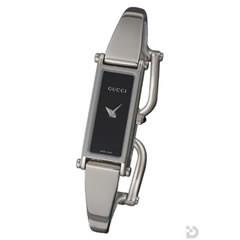 グッチ 1500P レディース 腕時計 ブラック文字盤