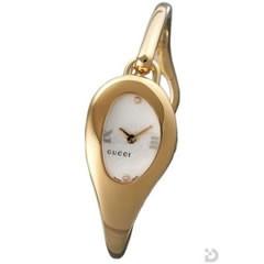 グッチ 103P 腕時計 ホワイトフラワ文字盤
