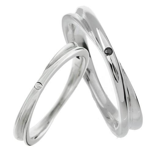 【ペア販売】インフィニティ ジルコニア ペア リング シルバー アクセサリー 指輪