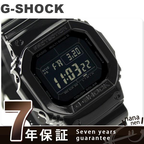【あす着】G-SHOCK グロッシー・ブラックシリーズ 電波ソーラー GW-M5610BB-1ER カシオ Gショック 腕時計 オールブラック