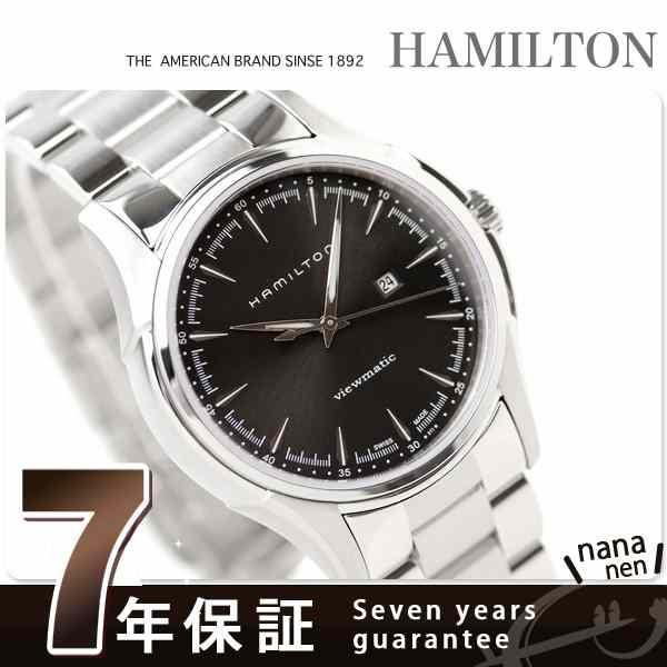 ハミルトン 自動巻き ジャズマスター ビューマチック H32325131 HAMILTON 腕時計 Jazzmaster Viewmatic ブラック メタル