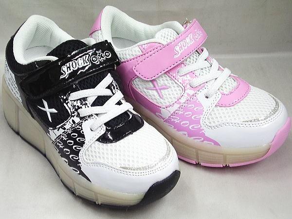 (B倉庫)Shock SW021 ローラーシューズ 男の子 女の子 キッズ ジュニア 子供靴 スニーカー 光る