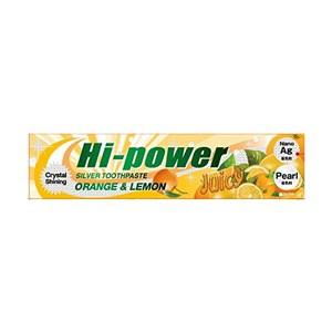 ハイパワー歯みがき オレンジ レモン 120g[配送区分:A]