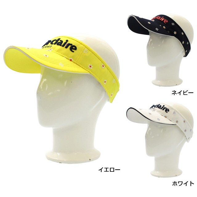 マリクレール(marie claire) レディース ゴルフ 帽子 サンバイザー (717-908) golf5