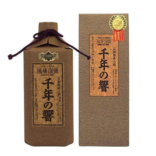 千年の響 古酒 720ml 43度|泡盛|古酒|ギフト|[飲み物>お酒>泡盛]