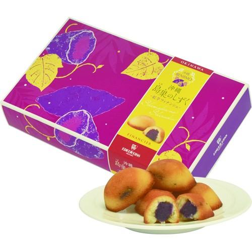 島果のしずく 紅芋フィナンシェ12個入り|バレンタイン|ケーキ|エーデルワイス[食べ物>スイーツ・ジャム>ケーキ]