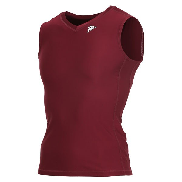 17FW カッパ(Kappa) ノースリーブコンプレッションシャツ KF412UT30-BO