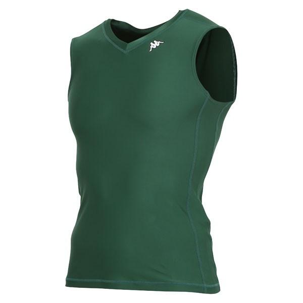 17FW カッパ(Kappa) ノースリーブコンプレッションシャツ KF412UT30-DG