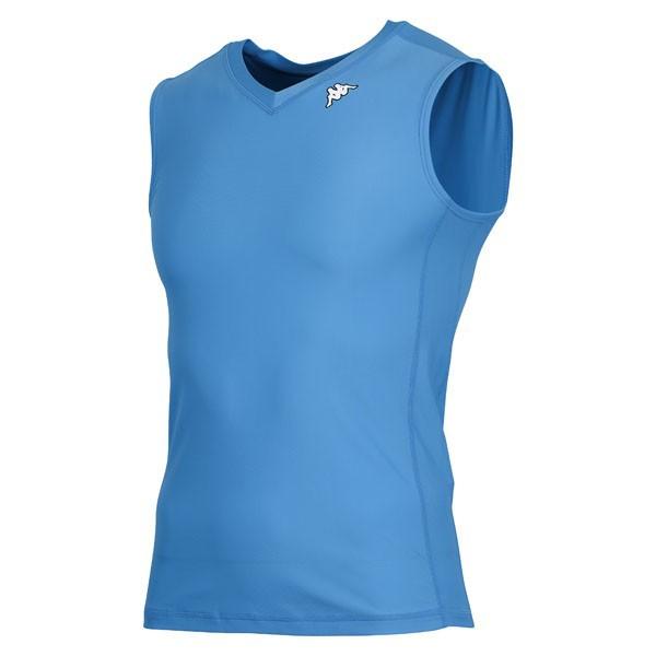 17FW カッパ(Kappa) ノースリーブコンプレッションシャツ KF412UT30-ITB