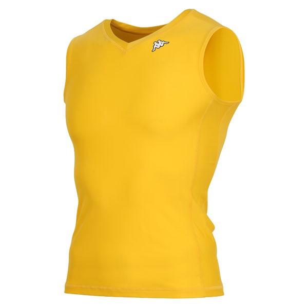 17FW カッパ(Kappa) ノースリーブコンプレッションシャツ KF412UT30-LMN