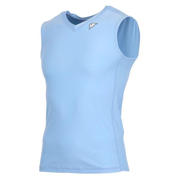 17FW カッパ(Kappa) ノースリーブコンプレッションシャツ KF412UT30-NAB