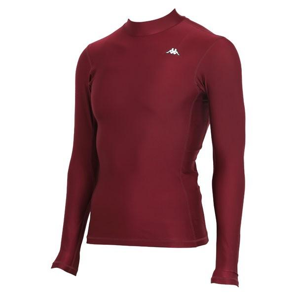 17FW カッパ(Kappa) ロングノースリーブコンプレッションシャツ KF412UT31-BO