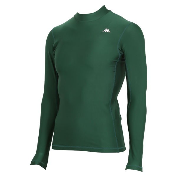 17FW カッパ(Kappa) ロングノースリーブコンプレッションシャツ KF412UT31-DG