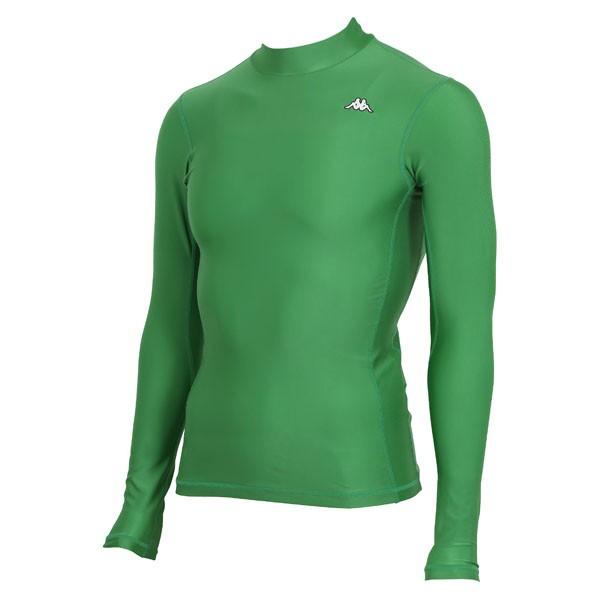 17FW カッパ(Kappa) ロングノースリーブコンプレッションシャツ KF412UT31-GN