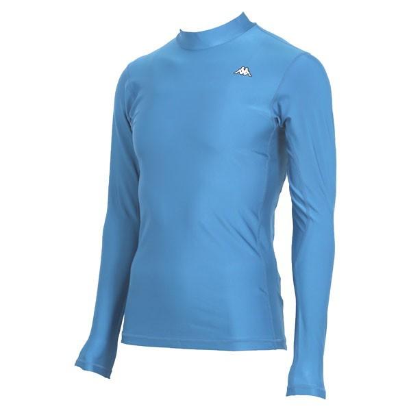 17FW カッパ(Kappa) ロングノースリーブコンプレッションシャツ KF412UT31-ITB