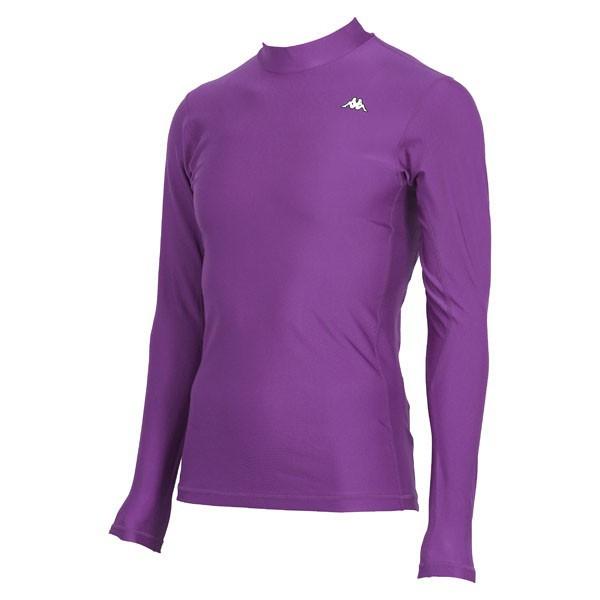 17FW カッパ(Kappa) ロングノースリーブコンプレッションシャツ KF412UT31-PU