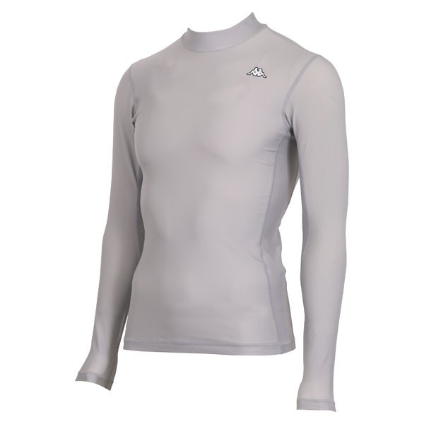 17FW カッパ(Kappa) ロングノースリーブコンプレッションシャツ KF412UT31-SI