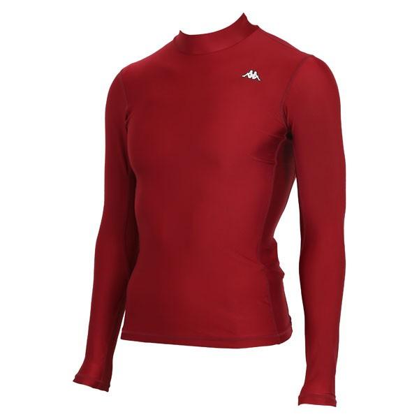 17FW カッパ(Kappa) ロングノースリーブコンプレッションシャツ KF412UT31-WR