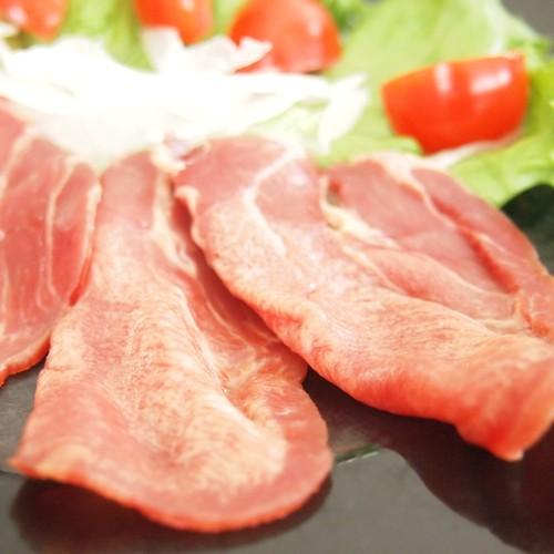牛タン生ハム 極旨 スライス 100g 約20枚 冷凍 牛たんハム おつまみギフト