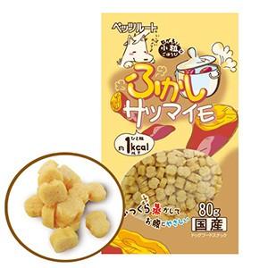 ペッツルート ふかしサツマイモ 80g (犬用おやつ)