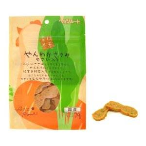 ペッツルート 素材メモ やんわかささみ 野菜入り 70g(犬用おやつ)