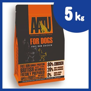 AATU (アートゥー) ドッグ チキン 5kg ドッグフード 【正規品】