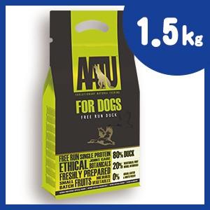 AATU (アートゥー) ドッグ ダック 1.5kg ドッグフード【正規品】