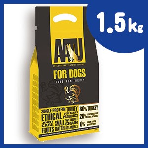 AATU (アートゥー) ドッグ ターキー 1.5kg ドッグフード【正規品】