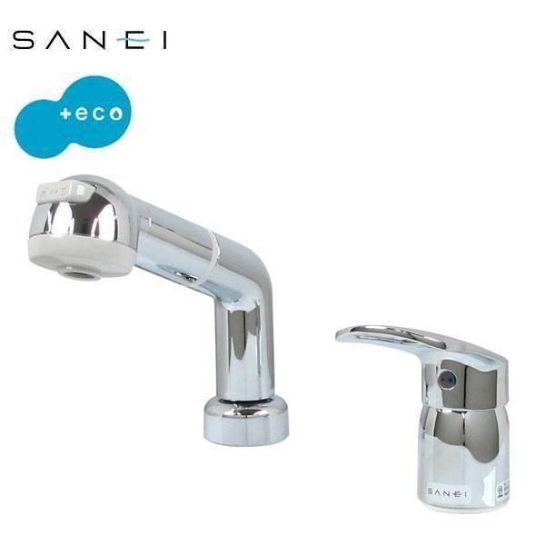 鐘 三栄水栓 利楽 手洗器 SANEI KANE HW20231-014 RIRAKU