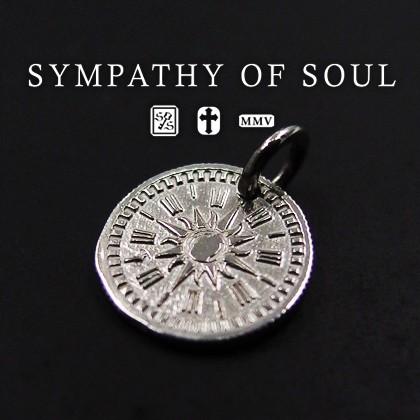 シンパシーオブソウル コインチャームシルバーネックレス Hope Sun Coin Charm - Silver メンズ レディース ユニセックス sympathy of s