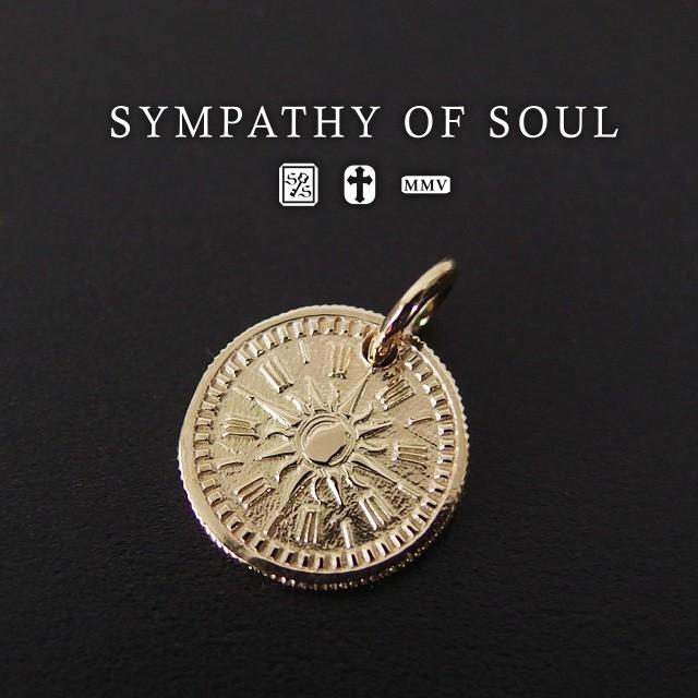 シンパシーオブソウル コインチャーム k10 ブレスコインチャーム k10イエローゴールド メンズ レディース ユニセックス sympathy of soul