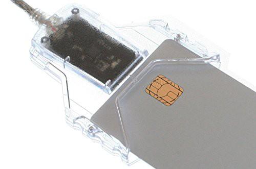 GemaltoジェムアルトICカードリーダ・ライタ 電子申告e-Tax用・住基カード用・公的個人認証用・地方税eLTax用(HWP119316同等品)PC USB
