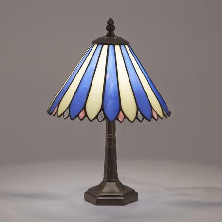 ステンドグラスランプ ナタリア || ライト 照明 テーブル デスクライト