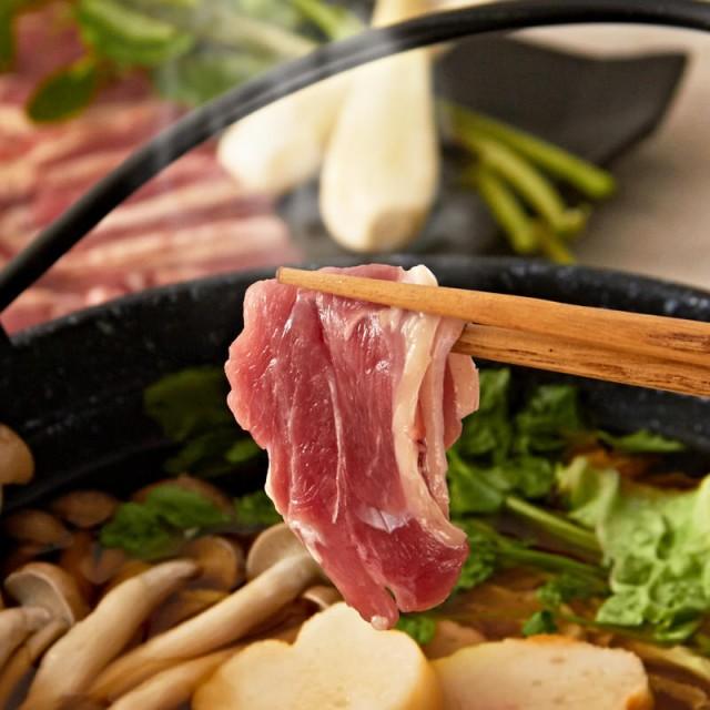 送料無料 肉 お取り寄せフランス鴨 鴨鍋 セット 鴨もも肉スライス 4パック 鴨スープ4袋 東由利フランス鴨生産組合 秋田県