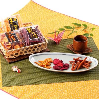 和菓子 お取り寄せスイーツ sweets さつまいもチップ かりんとう セット 鹿児島産