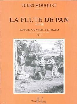楽譜 GYW00076692 JULES OP.15 パンの笛/と MOUQUET SONATE OP.15 LA FLUTE DE PAN / アンリ