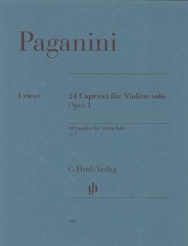 楽譜 GYS00073598 パガニーニ 24のカプリス OP.1 原典版 / ヘンレ社(ヤマハ)