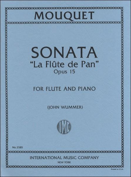 楽譜 WL117 輸入 J.ムーケ/フルート・ソナタ パンの笛OP.15 / ロケットミュージック(旧エイトカンパニィ)