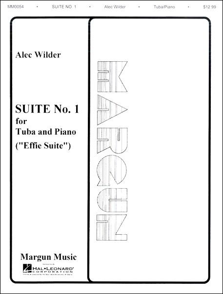 楽譜 輸入Suite No.1 for Tuba and Piano (Effie Suite)/チューバとピアノのための組曲第1番(エフィー組曲)( / ウィンズスコア