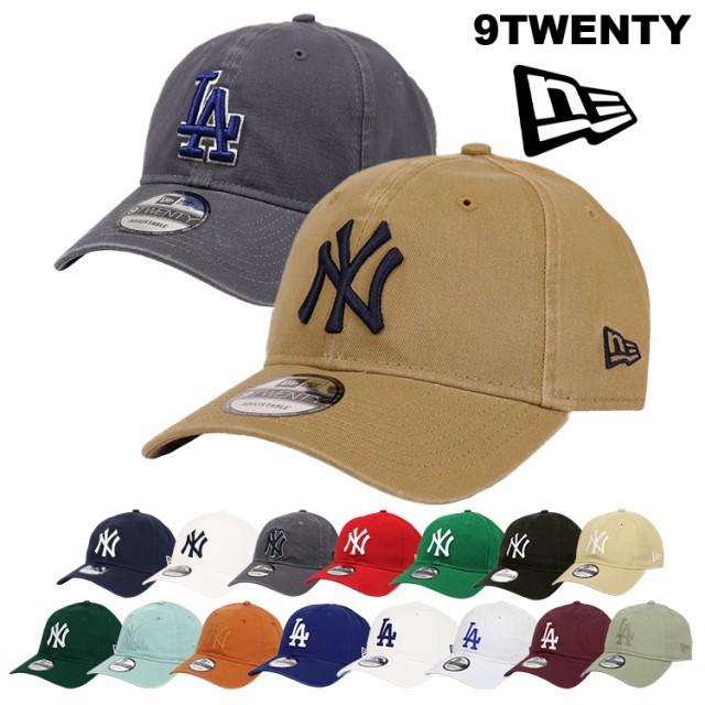 ニューエラ キャップ レディース メンズ 帽子 9TWENTY MLB メジャーリーグ NewEra ローキャップ ベースボール 野球 ニューヨーク ロサン